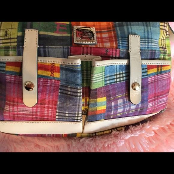 Dooney & Bourke Handbags - Dooney & Bourke Madras Plaid Ants Purse